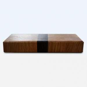 oak end grain chopping board
