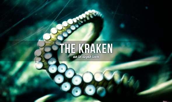 Kraken sea monster
