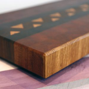 sapele chopping board